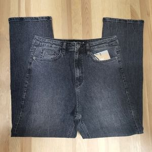 Desigual 30 Straight fit jeans with high waist and ankle grazer cut